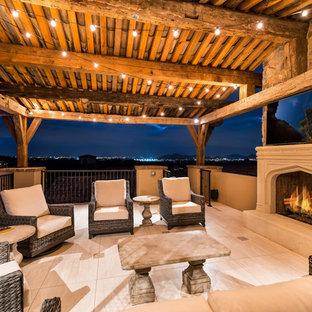 Foto di terrazze e balconi american style