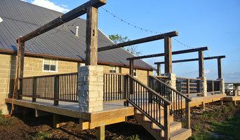 RusticRose Barn Deck