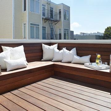 San Francisco Master Bath & Deck