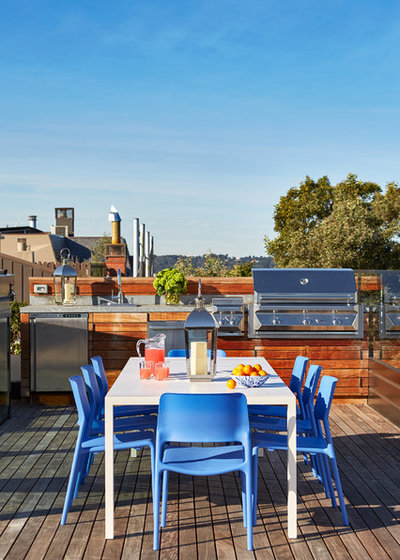 Contemporáneo Terraza y balcón by Plath & Company