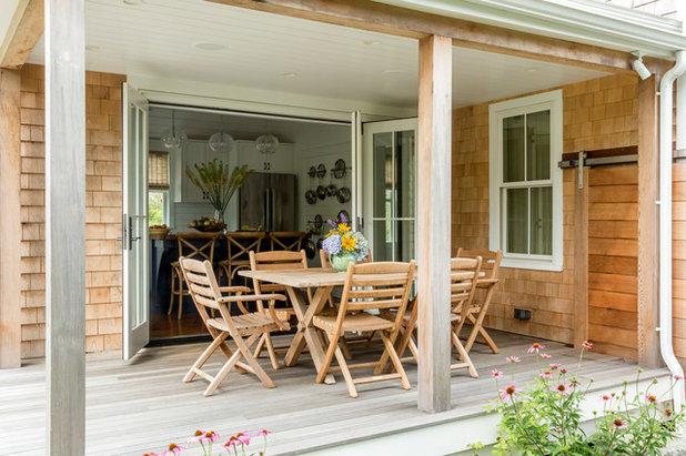 Beach Style Deck by LDa Architecture & Interiors