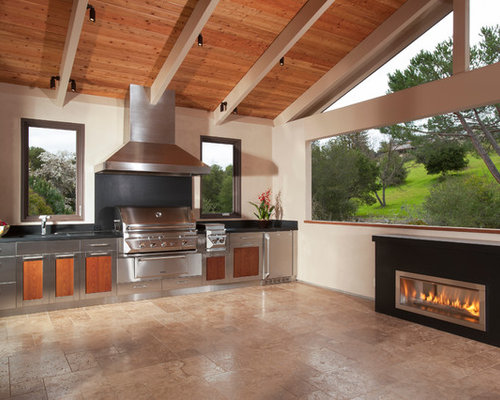 modern contemporary bedrooms outdoor gas fireplace houzz 12555