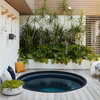 Relaxed Courtyard Celebrates Indoor-Outdoor Living