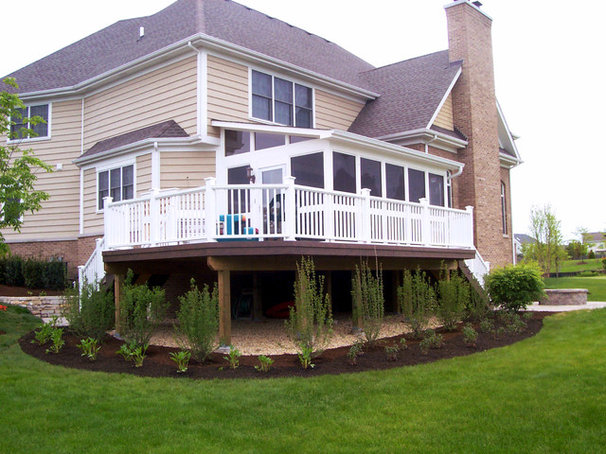 Traditional Exterior by Archadeck of Chicagoland