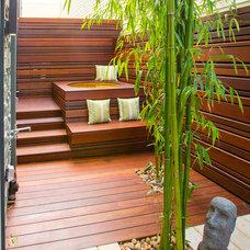 Contemporary Deck by Tamalpais Construction Company