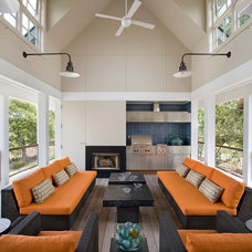 Contemporary Porch by Philip Babb Architect