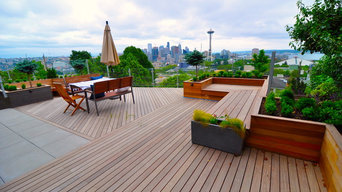 Seattle Skyline Deck