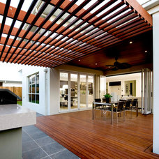 Contemporary Deck by Orbit Homes