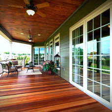 Traditional Porch by Landmark Homes