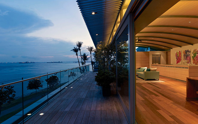 Wooden Terrace by WOW Architects | Warner Wong Design