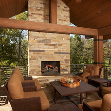 Contemporary Deck by Cornelius Homes, Inc.
