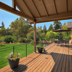traditional patio by RW Anderson Homes
