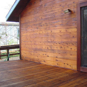 Siding and Deck Stained