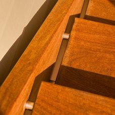 Contemporary Deck by Paul Hofmann Construction