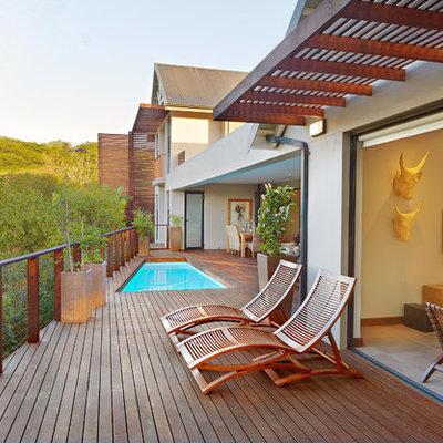 Deck - contemporary deck idea