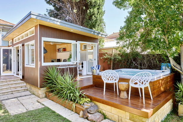 Contemporary Deck by St James Whitting