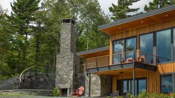 Ski House in the Woods