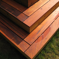 Traditional Deck by Orange Building Co.