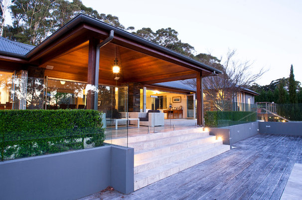 Contemporary Porch by Slater Architects