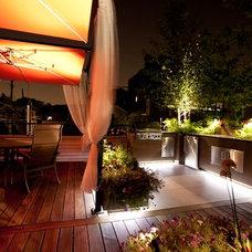 Modern Deck by Chicago Green Design Inc.
