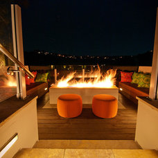 Contemporary Patio by Landsystems Landscapes