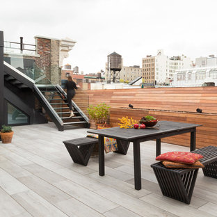 Superior Inspiration For An Industrial Rooftop Deck Container Garden Remodel In New  York