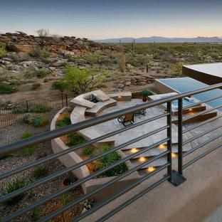 Southwest rooftop deck photo in Phoenix