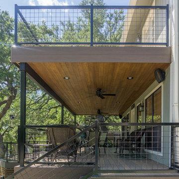 Spicewood Multi-Level Deck (TimberTech)