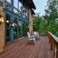Rustic Deck by Evolve Design Group