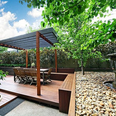 Modern Deck St Kilda East Renovation