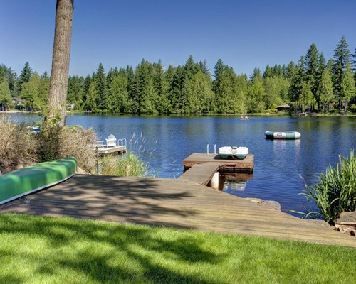 Dock Design Ideas find this pin and more on lake ideas 2836 Dock Waterfront Home Design Photos