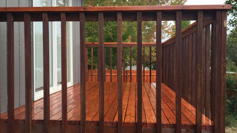 stain deck
