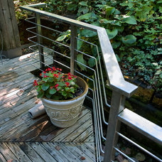 Industrial Deck by IMB Handrails & Fabrication