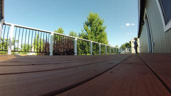 Stead Redwood Deck
