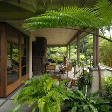 Tropical Deck by Philip White Architects, LLC