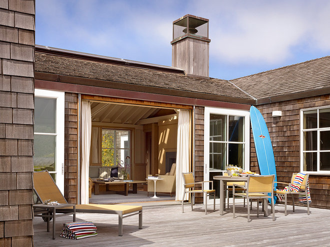 Beach Style Patio by Butler Armsden Architects