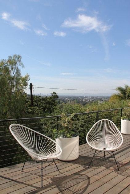 Modern Deck by Foundation Landscape Design