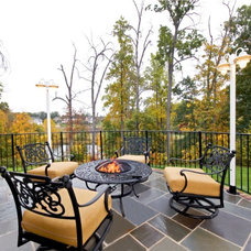 Traditional Deck by Michael Nash Design, Build & Homes