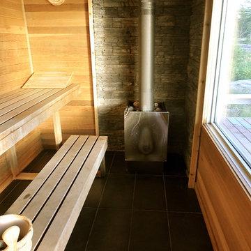 Summer Cottage Outdoor Sauna