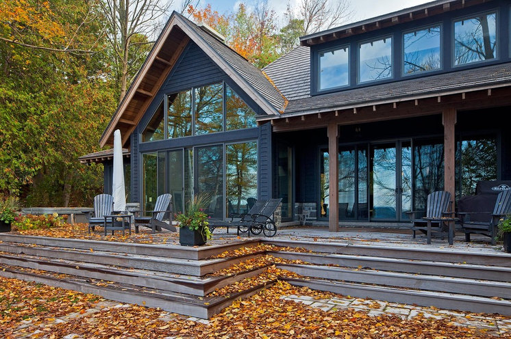 Rustic Deck by Peter A. Sellar - Architectural Photographer