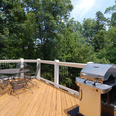 Transitional Deck by WS Builders