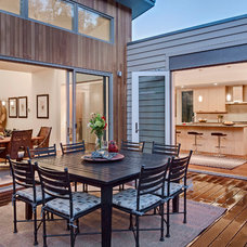 Contemporary Deck by Blu Homes