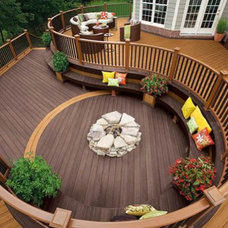 Traditional Deck by Housetrends Magazine