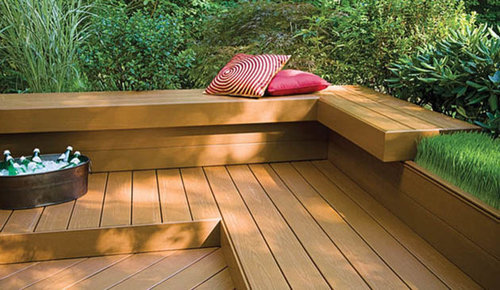 Composite Deck Bench Home Design Ideas Pictures Remodel