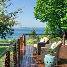 Contemporary Deck by Foley Fiore Architecture