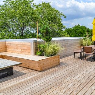 Swanky Chicago Rooftop Garden Remodel