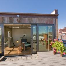 Contemporary Deck by Envi Interior Design Studio