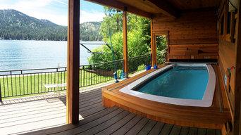 Swim Spa Lakeside