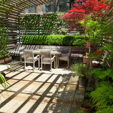 Modern Patio by Lynn Gaffney Architect, PLLC