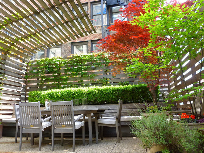 Modern Patio by Lynn Gaffney Architect, PLLC